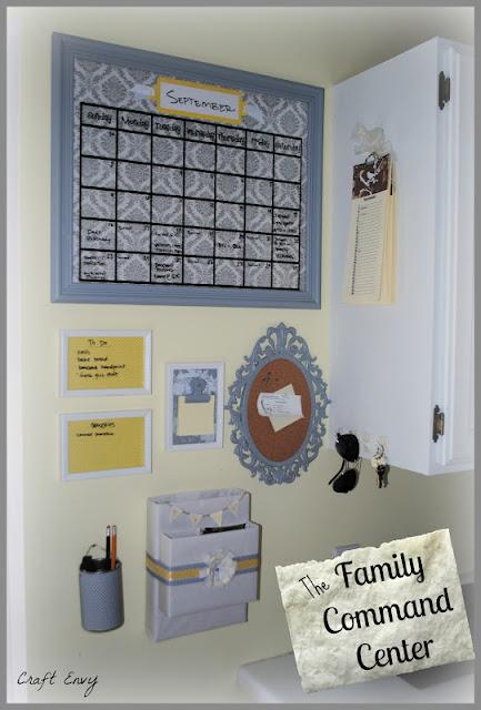 Craft Envy Family Command Center
