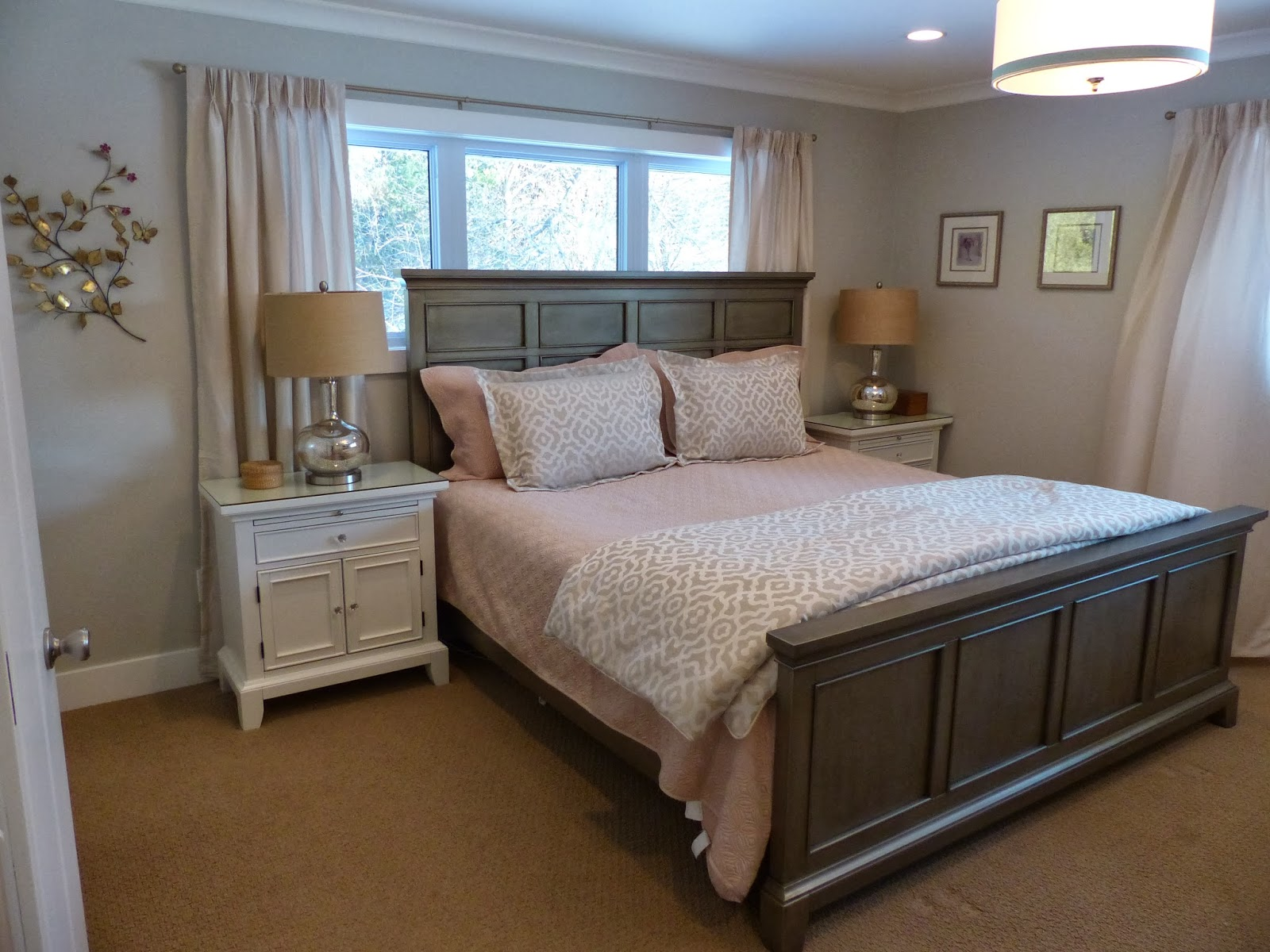 Julie Peterson Simple Redesign Master Bedroom Makeover