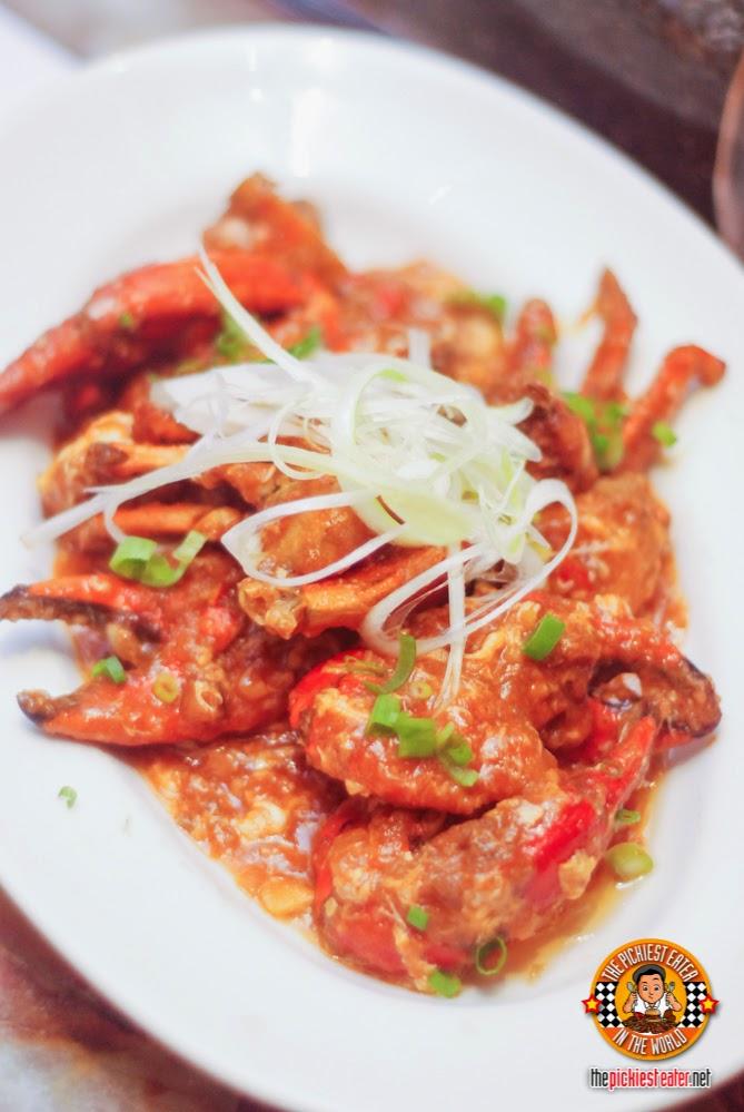 Singaporean Style Crabs