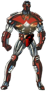 Warrior One - modified concept from Crimson Dynamo of Marvel <br />Comics