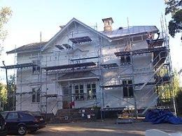 Grundad fasad