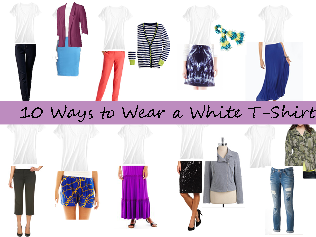 Smart n Snazzy: 10 Ways to Wear a White T-Shirt