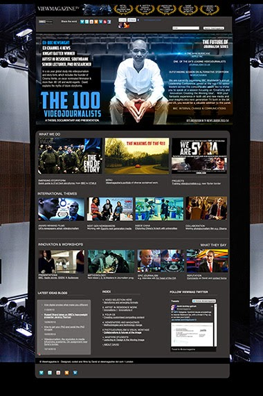 Log onto viewmagazine.tv's website for the latest in media