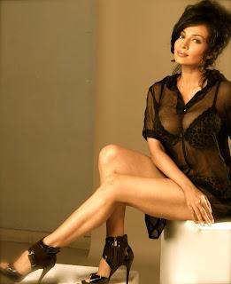 Asha Sainin Latest Transparent Top Pictureshoot