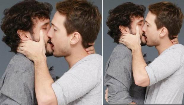 Fotos von schwulen Männern in Orgien