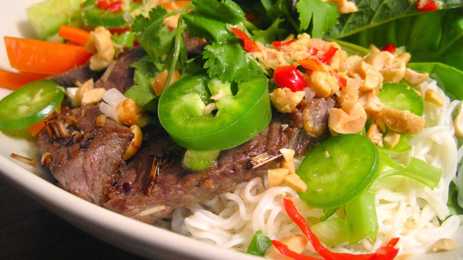 Kvell in the Kitchen: Vietnamese Lemon Grass Beef and ...
