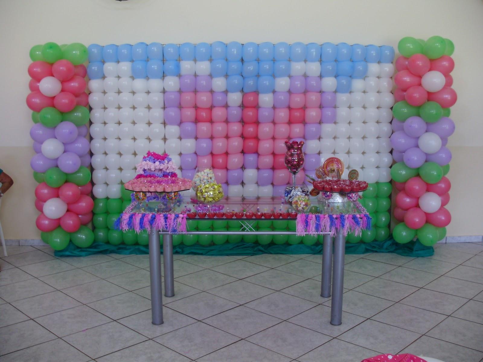 decoracao de balões jardim encantado:Festolândia Icaraíma – PR: Decoração de Balões