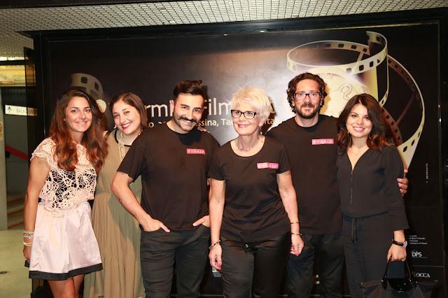 matrix hair designer, taormina film fest