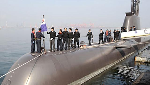 Kapal Selam Changbogo Class Korea Selatan