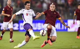 Roma 1-1 Fiorentina # Résumé