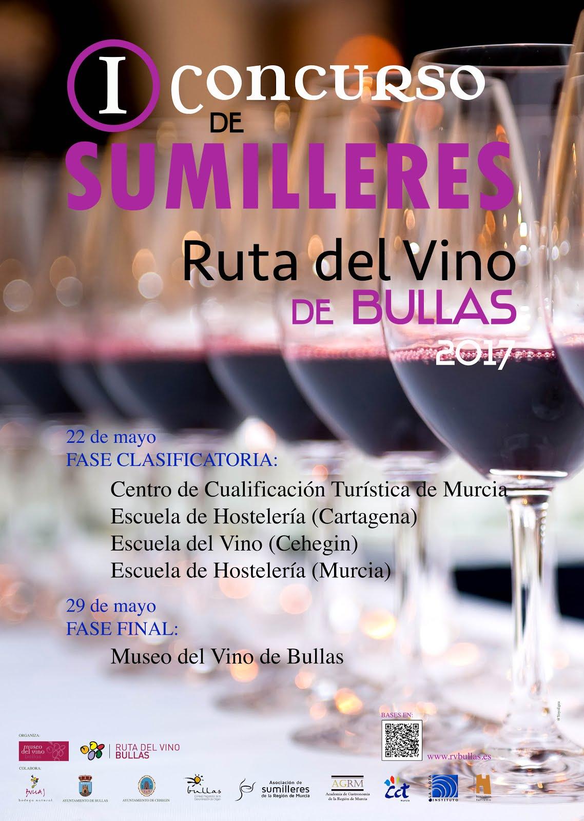 I Concurso de Sumilleres 'Ruta del Vino de Bullas'