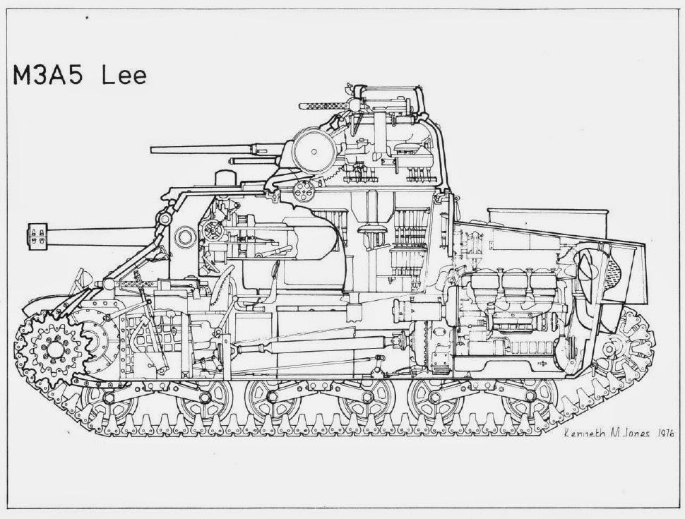 allied tanks and combat vehicles of world war ii  medium tank m3 grant  u2013 lee part i