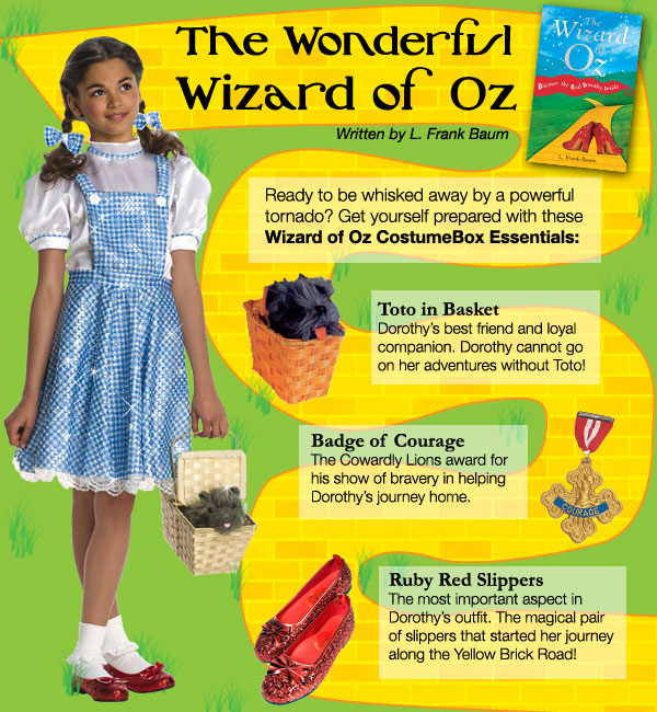 Inside the costume box create the perfect wizard of oz book week create the perfect wizard of oz book week parade costume solutioingenieria Images