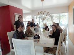 Encontro memorável na casa de Lucimara Parisi