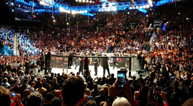 Eventos do UFC com serviço VIP