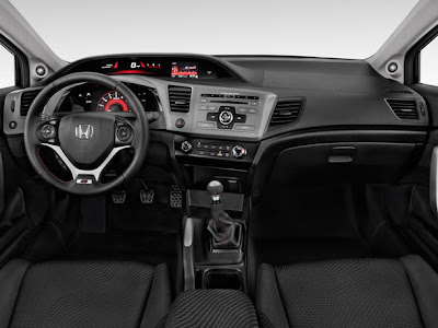 Honda Civic Si Coupe 2012 Dashboard picture
