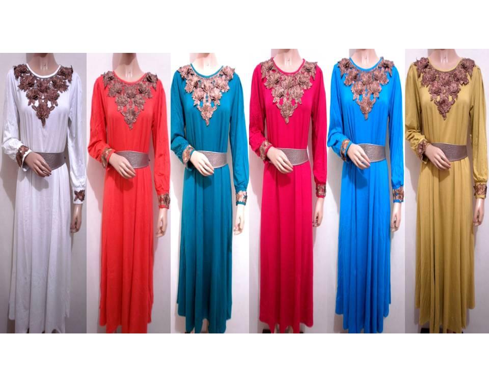 Grosir Baju Gamis Muslimah Maxi Dress
