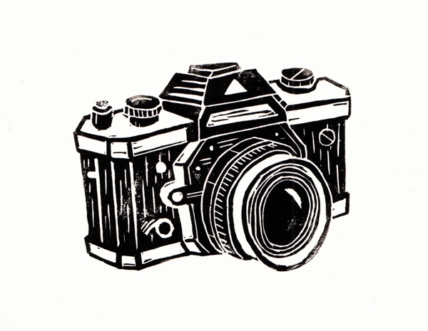 Peaceful image for printable camera