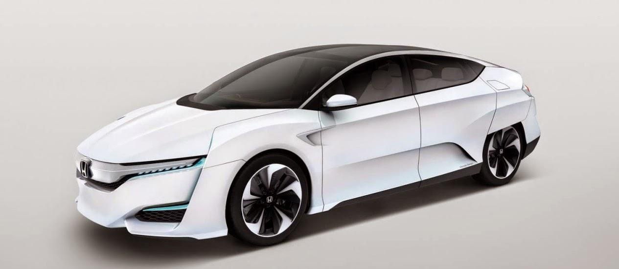 Mobil Honda FCV yang Modis, Irit, Berbahan Bakar Hidrogen