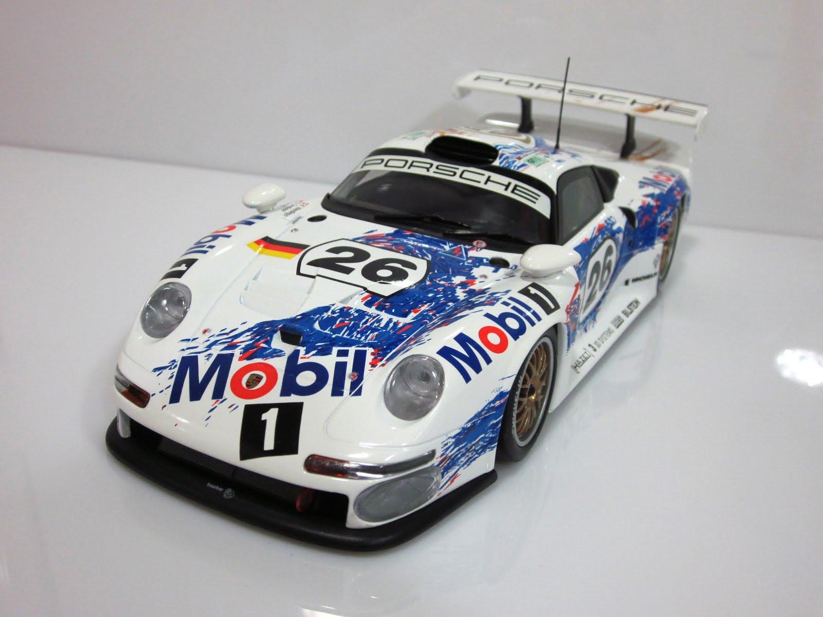 Porsche 911 GT1 - 24 Horas de Le Mans [K. Wendlinger / Y. Dalmas / S. Goodyear] - 1996 UT Models