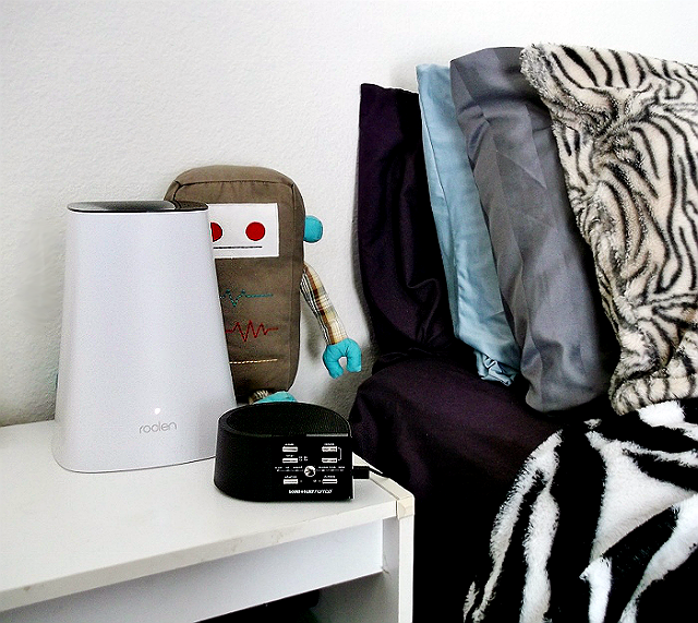 Breath Smart Ultrasonic Humidifier by Roolen