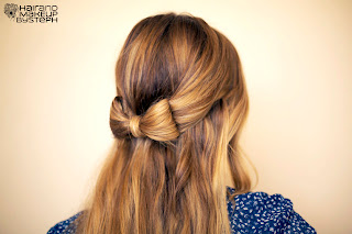 bow made from hair