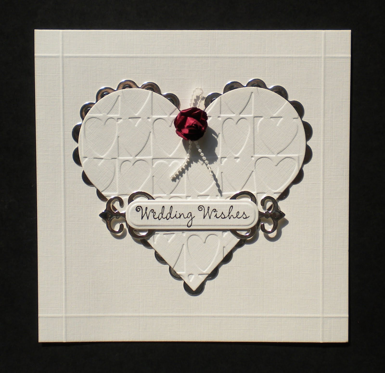 Littlebear Crafts: Wedding Card