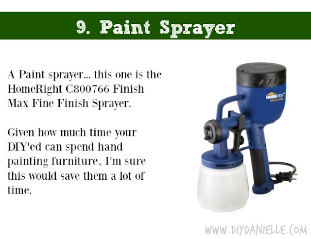 Holiday DIY Gift Guide: Paint Sprayer