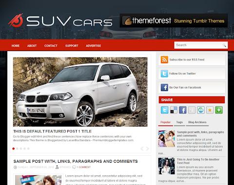 SuvCars Blogger Theme