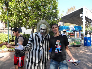"Personagem Beetlejuice do filme ""Os fantasmas se divertem"""