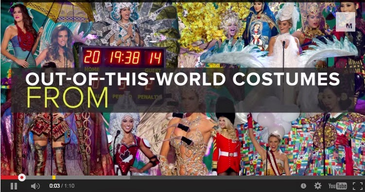 Out-of-this-world Miss Universe Costumes