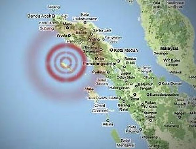 Gempa Guncang Aceh Jaya