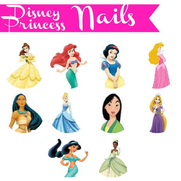Princess Themed Nails