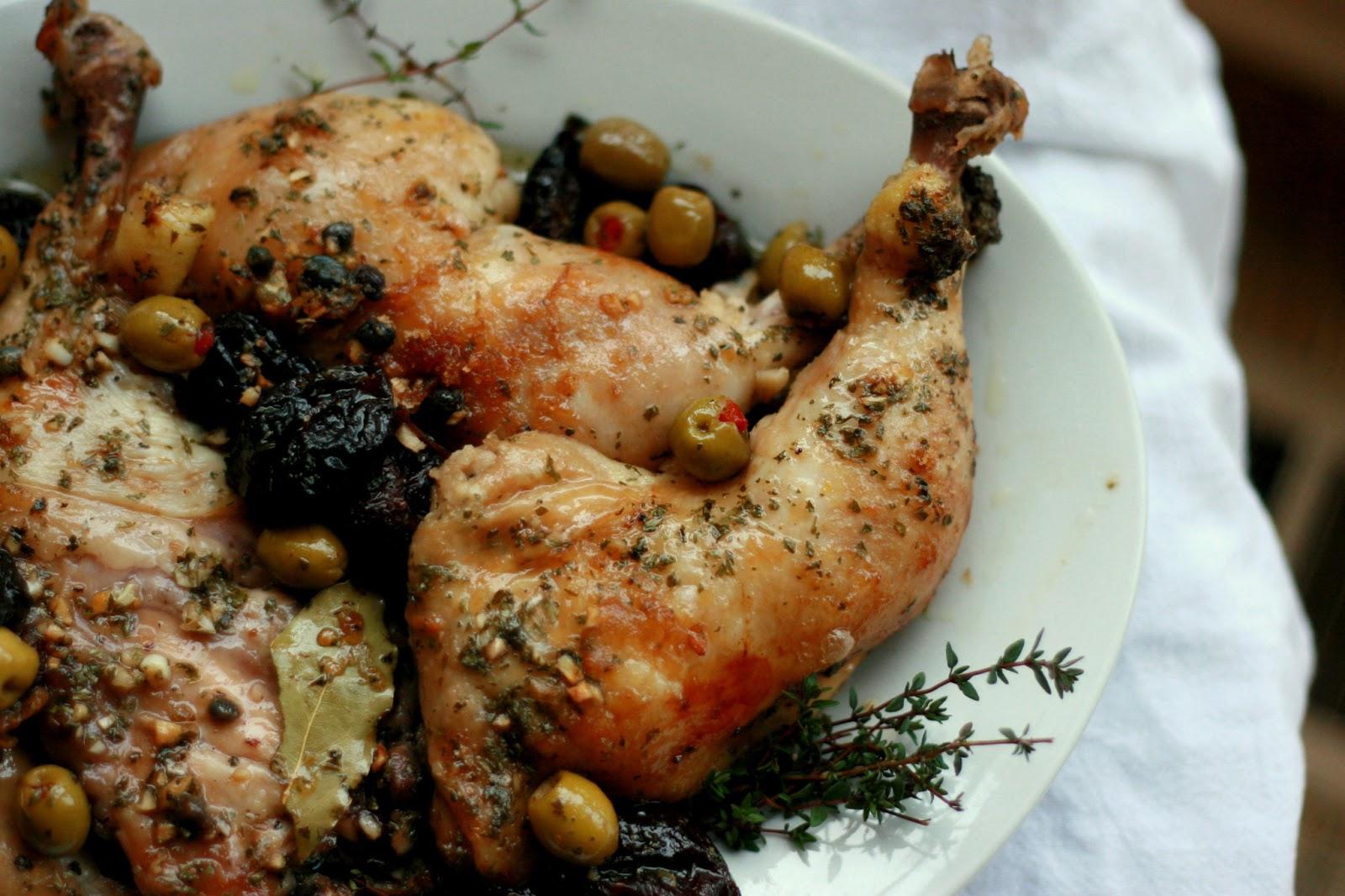vinegar chicken marbella recipe simplyrecipes com chicken marbella