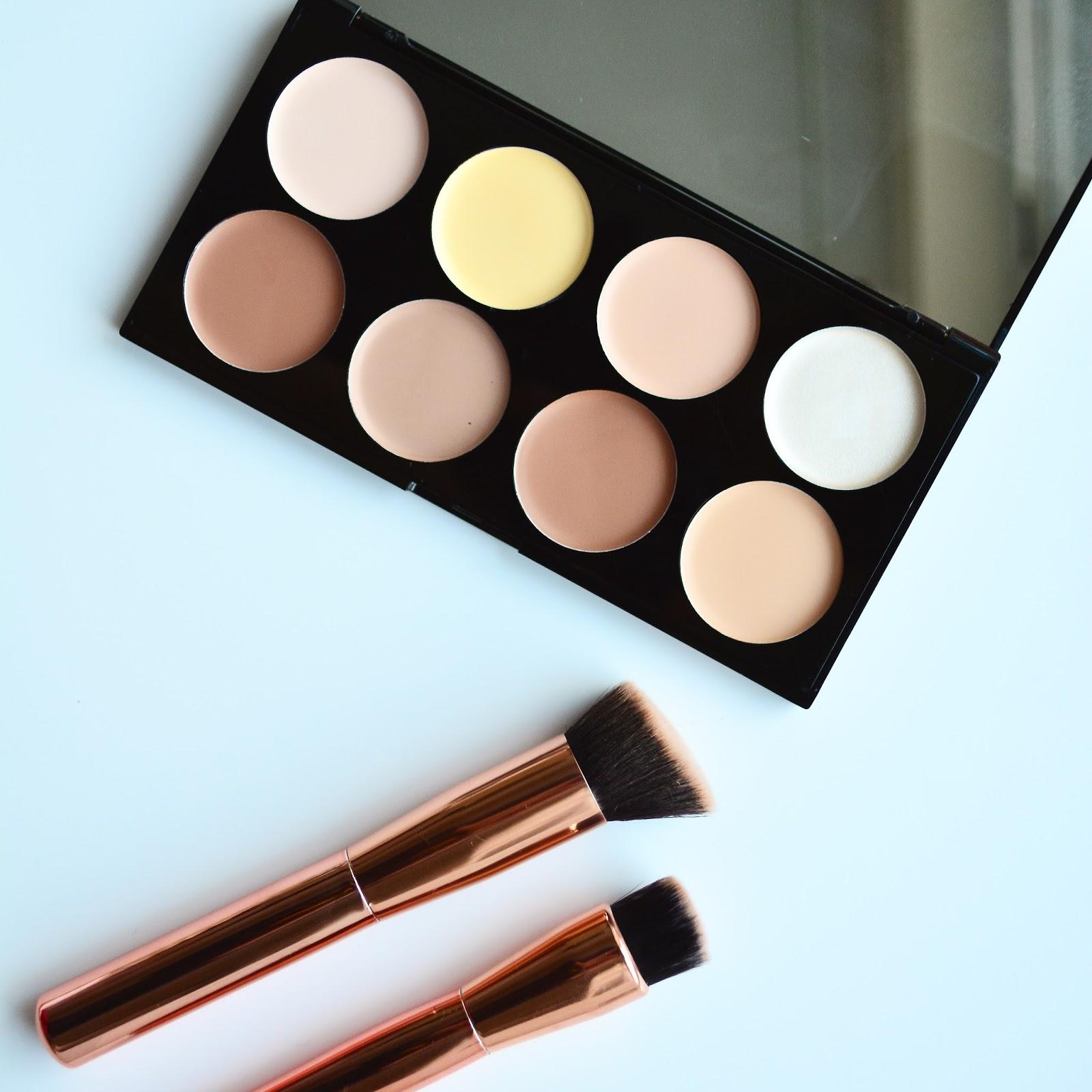 makeup revolution ultra cream contour palette review. Black Bedroom Furniture Sets. Home Design Ideas