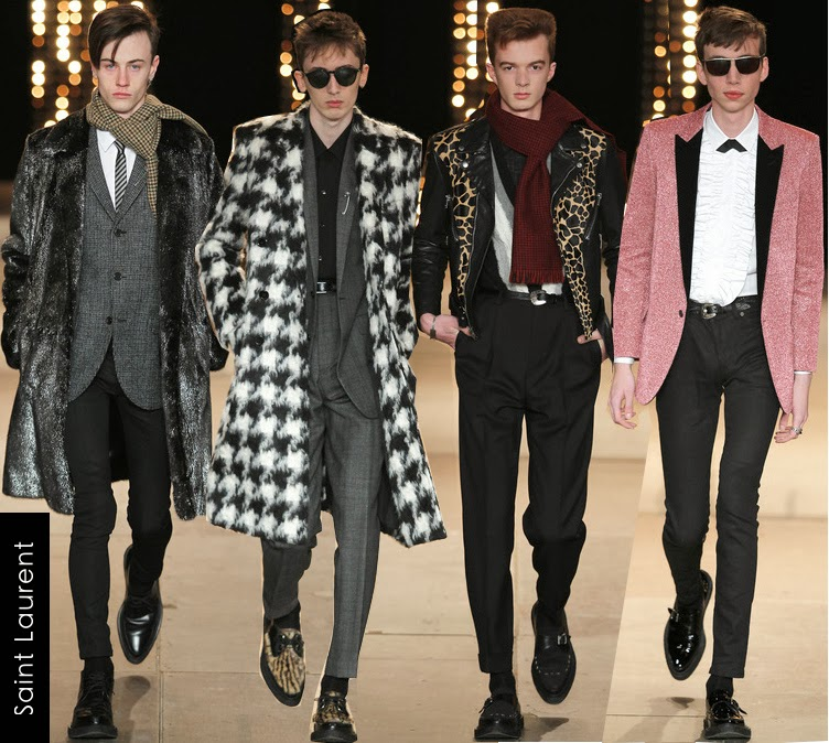 saint laurent mens fall 2014