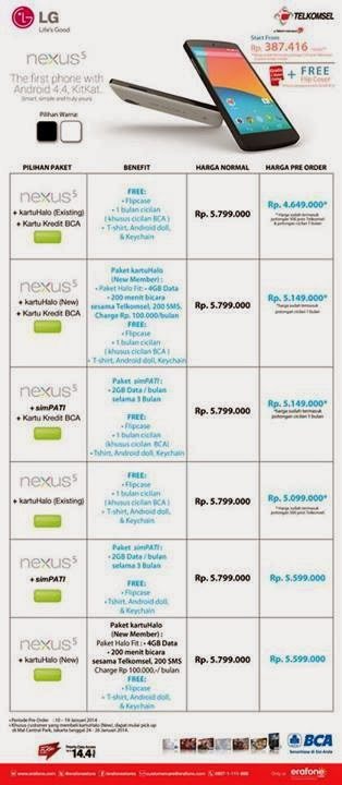 Nexus 5 Preorder Promo