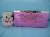 Mini GA - Pink bling bling wallet