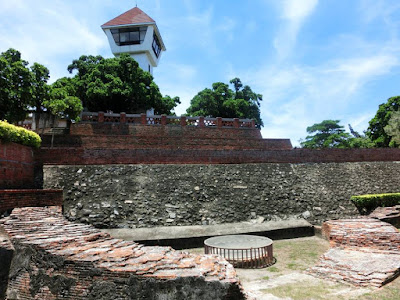 The pit at Fort Zeelandia Anping Tainan
