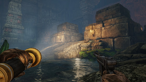 Screen Shot Of Deadfall Adventures (2013) Full PC Game Free Download At World4ufree.Org