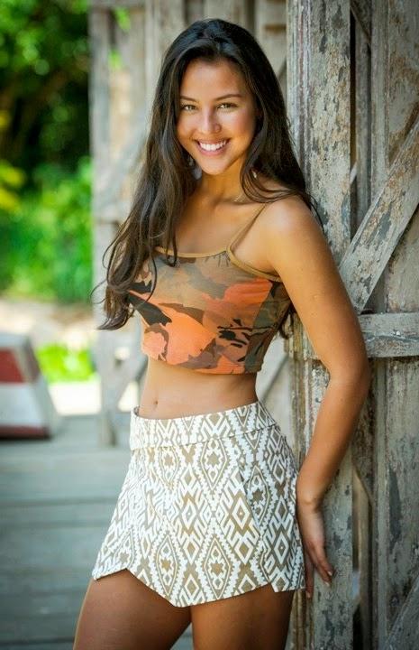 Atriz da novela Além do Horizonte, Yanna fala sobre seus truques de beleza...
