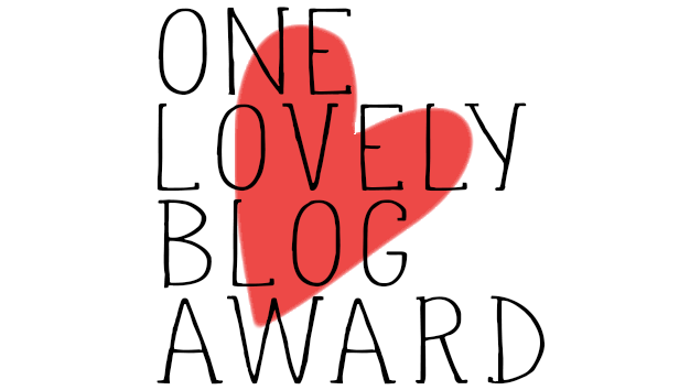Premio ONE LOVELY BLOG AWARD 2014