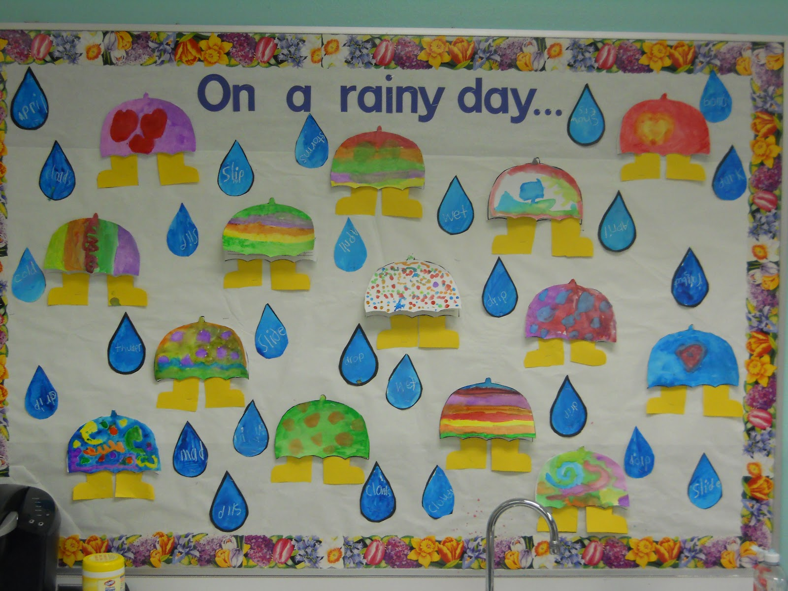 Mrs Ts First Grade Class On A Rainy Day On A Rainy Day