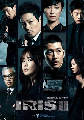 Poster phim Iris 2, Poster movie 아이리스 2 2013