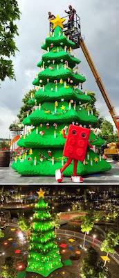 6 Pohon Natal Terunik dari Seluruh Dunia