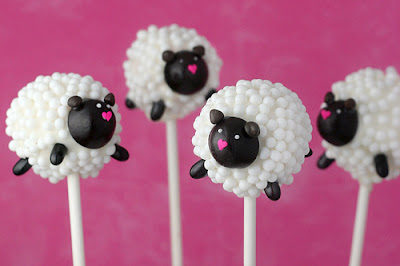 sheep cakes pops