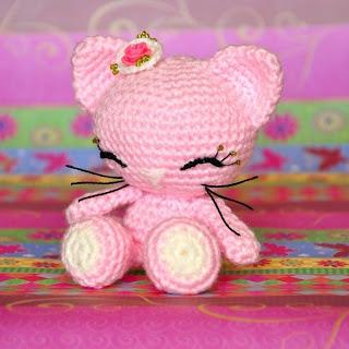 Amigurumi Patrones Gratis Kitty : Patrones Amigurumi: Soft Kitty
