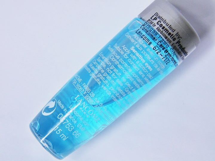 lancme bifacil non oily instant cleanser