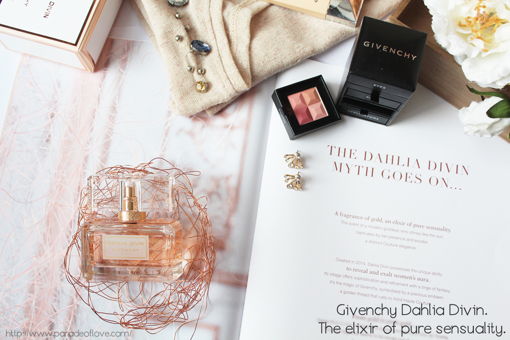 A fragrance of gold – the Givenchy Dahlia Divin myth goes on: Review