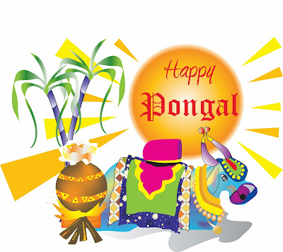 Fresh Happy Pongal 2016 Facebook Status Wishes Greetings for Her